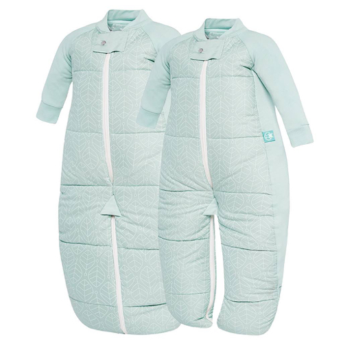 SACOS DE DORMIR CON PIERNAS/ SLEEPING SUITS 3,5 TOG Size: 2-12 MESES  Color: MINT LEAF