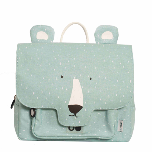 CARTERA /SATCHEL ANIMALES Color: POLAR BEAR
