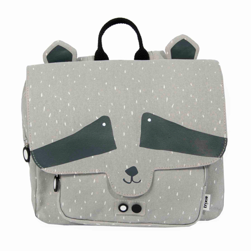 CARTERA /SATCHEL ANIMALES Color: MAPACHE